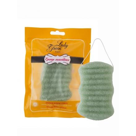 Lady Green Konjac Body Sponge Aloe Vera