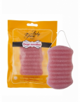 Lady Green Konjac Body Sponge Rose