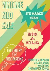 Vintage Kilo Sale